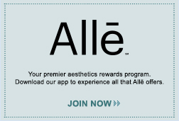 Earn points on select Allergan products, plus get special offers, updates and more.